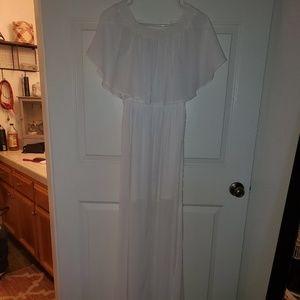 Show me your mumu hacienda white dress
